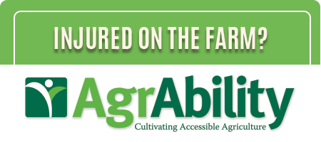 Injured on the farm? Missouri AgrAbility. Cultivating Accessible Agriculture